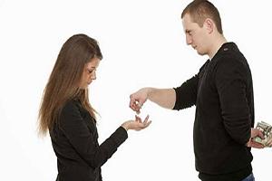 ازدواج کردن با آدم خسیس