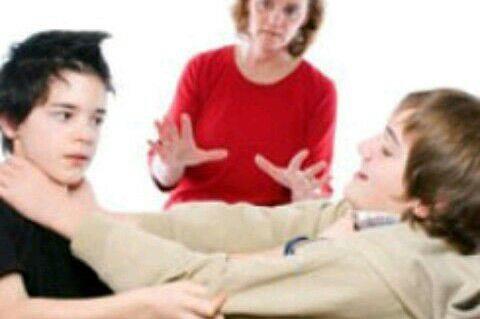 مقابله با دعوای کودکان