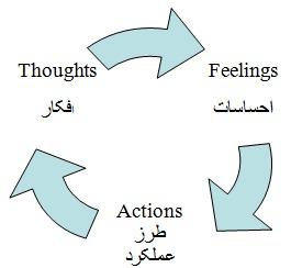 چرخه فکر و احساس