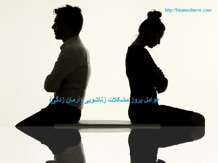 عوامل بروز مشکلات زناشویی (آرمان زدگی)