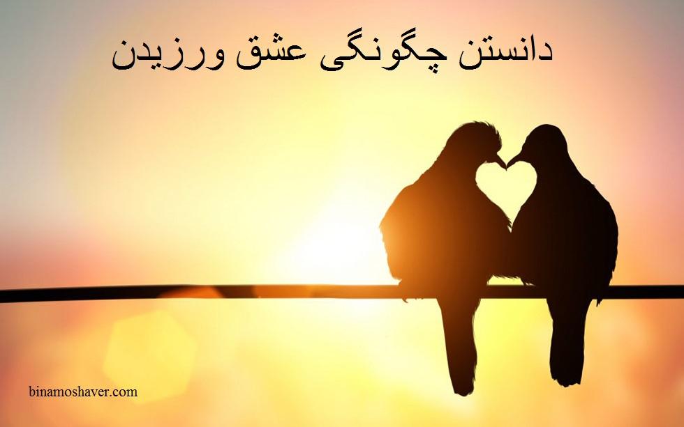 دانستن چگونگی عشق ورزیدن