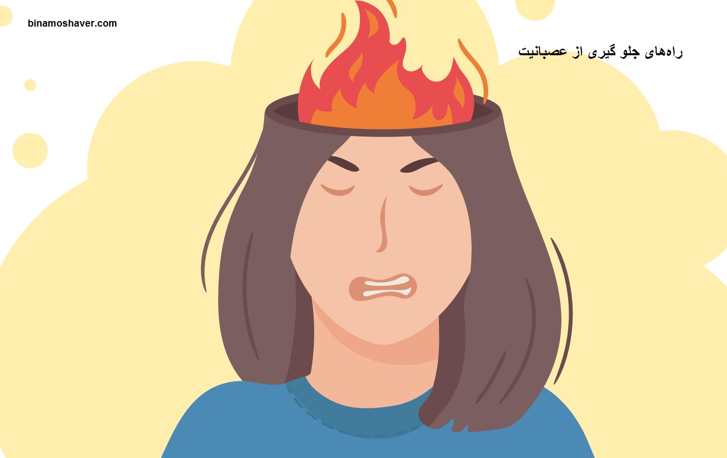 راههای جلو گیری از عصبانیت