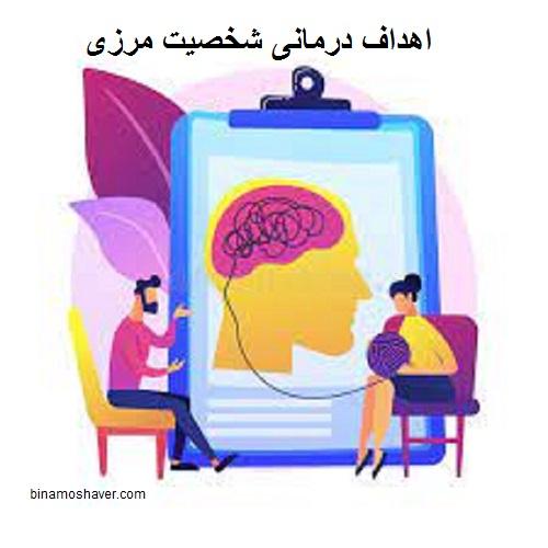 اهداف درمانی شخصیت مرزی